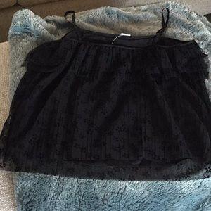 J. Crew Tops - J Crew black camisole, Size Small, NWT
